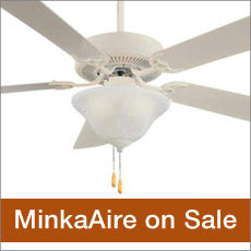 Minka Aire Ceililng Fans and Accessories on Sale