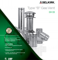 Selkirk MetalBest Type B Gas Vent pipe