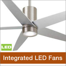 Minka Aire Integrated LED Lighting Ceiling Fans