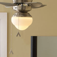 Monte Carlo Ceiling Fan Shades