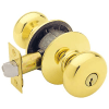 Schlage D170-PLY Polished Brass