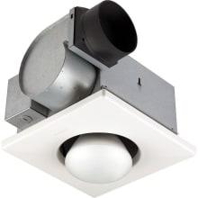 70 CFM 3.5 Sone Ceiling Mounted HVI Certified Utility Fan with Light