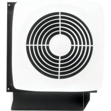 180 CFM 6.5 Sone Wall Mounted HVI Certified Utility Fan with Built-In Rotary Switch
