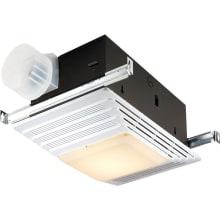 100 CFM 4.5 Sone Ceiling Mounted HVI Certified Bath Fan with Light