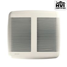 80 CFM 1 Sone Ceiling Mounted HVI Certified Bath Fan from the QT Collection