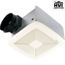 50 CFM 0.3 Sone Ceiling Mounted Energy Star Rated and HVI Certified Bath Fan from the QT Collection