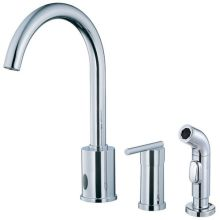 Kitchen Faucet - Includes Metal Side Spray From the Parma Collection