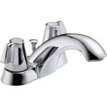 Classic Centerset Bathroom Faucet with Pop-Up Drain Assembly - Includes Lifetime Warranty