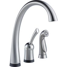Pilar Kitchen Faucet with On/Off Touch Activation and Side Spray - Includes Lifetime Warranty (5 Year on Electronic Parts)