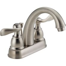 Windemere Centerset Bathroom Faucet with Pop-Up Drain Assembly - Includes Lifetime Warranty