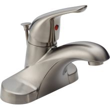 Foundations Core-B Centerset Bathroom Faucet with Pop-Up Drain Assembly - Includes Lifetime Warranty