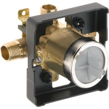 Universal Mixing Rough-In Valve with Service Stops and High-Flow - No Tub Port