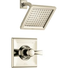 Dryden Monitor 14 Series Single Function Pressure Balanced Shower Trim Package with Touch Clean Shower Head - Less Rough-In Valve