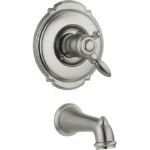 Victorian Tub-Only Trim Package with Independent Volume Control and Monitor Valve Technologies