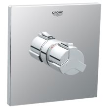 Allure Single Handle Thermostatic Valve Trim Only with Metal Lever Handle