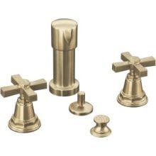Pinstripe™ Pure Bidet Faucet with Cross Handles