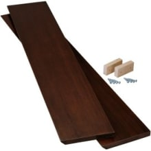 Purist Wood End Cap Kit for Purist Mirrored Cabinets