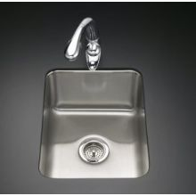 Single Basin Stainless Steel Kitchen Sink from the Undertone Series