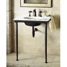Iron Lavatory Console Only - No Sink or Table Top
