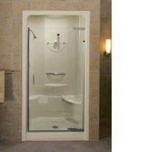 Frameless Pivot Shower Door - 39