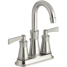 Archer Centerset Bathroom Faucet - Free Metal Pop-Up Drain Assembly with purchase
