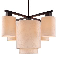 5 Light 1 Tier Chandelier from the Kimono Collection