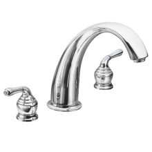 Roman Tub Faucet Trim from the Monticello Collection (Less Valve)