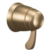 Single Handle Volume Control Trim with Metal Lever Handle from the ExactTemp Collection