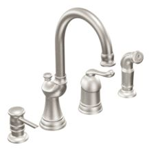 One-Handle High Arc Kitchen Faucet from the Muirfield Collection (Low Lead Compliant)