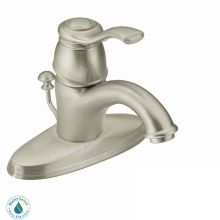 Single Handle Single Hole Bathroom Faucet from the Kingsley Collection (Valve Included)