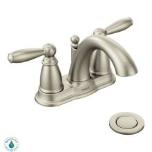 Brantford Double Handle Centerset Bathroom Faucet - Pop-Up Drain Assembly and Valve Included