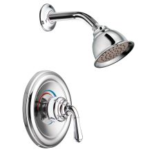 Single Handle Pressure Balanced Shower Trim with Shower Head from the Monticello Collection (Less Valve)