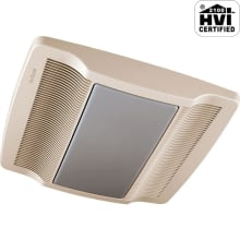 80 CFM 1 Sone Ceiling Mounted HVI Certified Bath Fan with Light and Night Light from the QT Collection