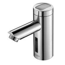 Solar Powered, Sensor Activated Electronic Hand Washing Faucet for Pre-Tempered water. Single Supply Faucet (For Pre-Mixed Water Only)