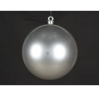 Christmas at Winterland WL-ORN-BALL-600-SLV