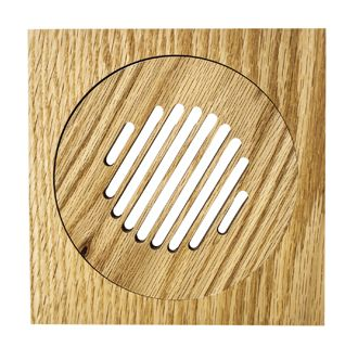GrillWorks Louvered Round Vent - FWF