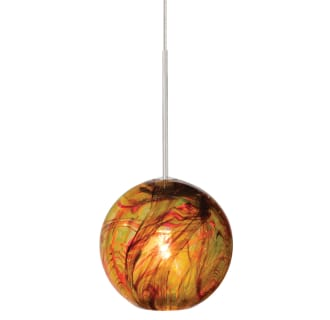 LBL Lighting Paperweight Amber Fusion Jack