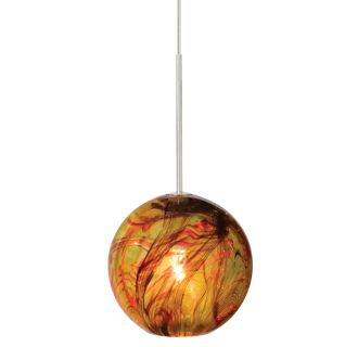 LBL Lighting Paperweight Amber Monopoint