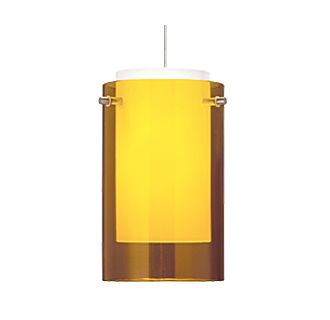 Tech Lighting Mini Echo Pendant-Amber