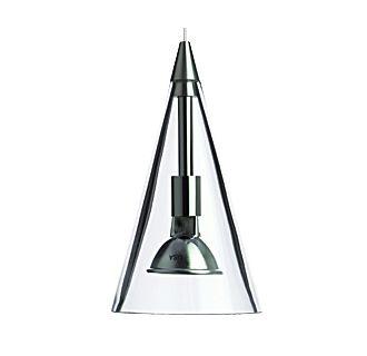 Tech Lighting Cone Pendant-Clear