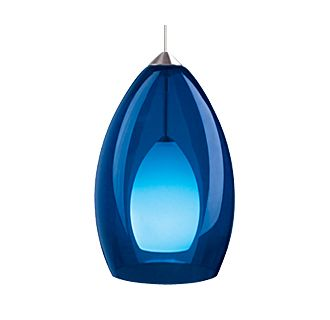 Tech Lighting Fire Pendant-Cobalt