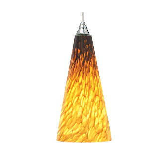 Tech Lighting Emerge Pendant-Tahoe Pine Amber