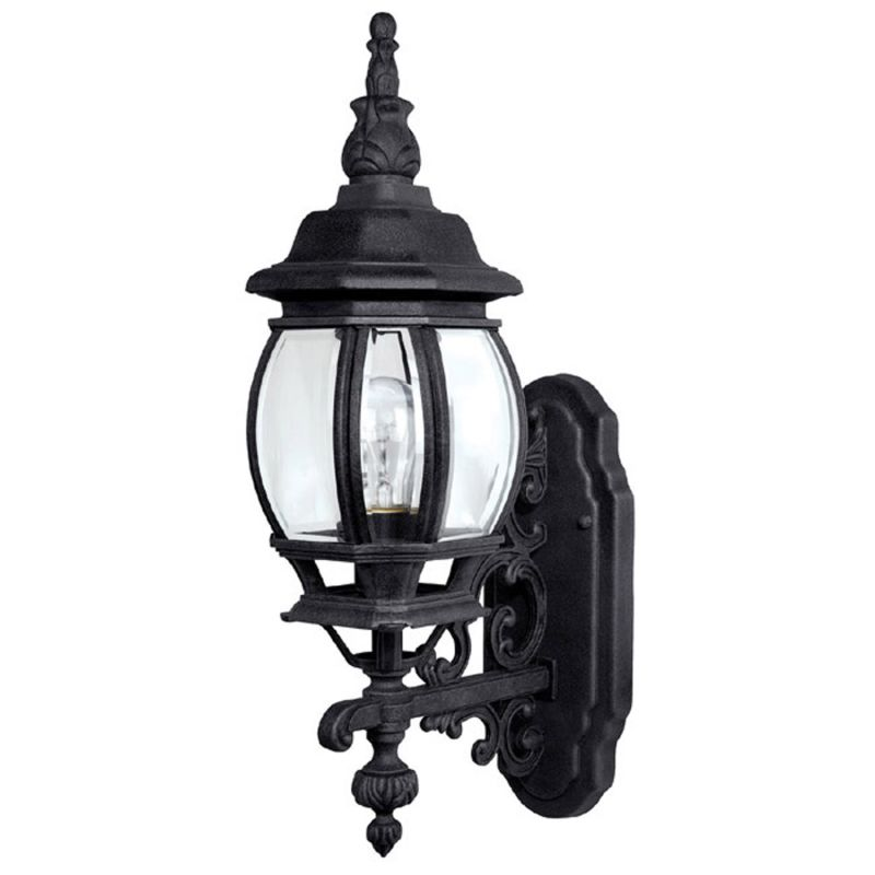 Capital lighting 9867bk black outdoor wall light for French country outdoor lighting