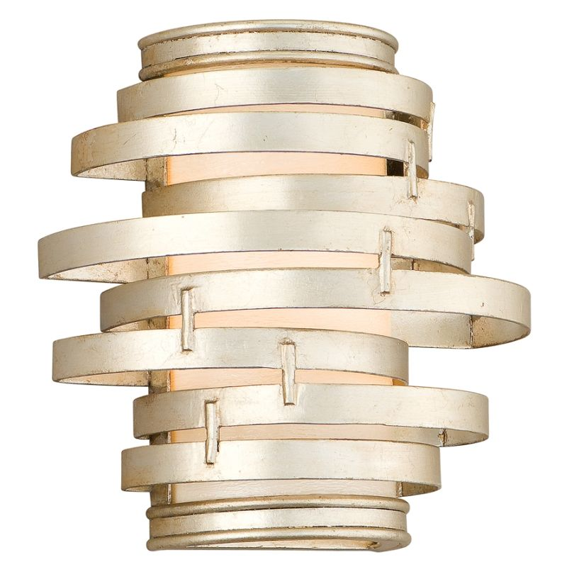 Corbett Lighting 128 11 Modern Silver Wall Light