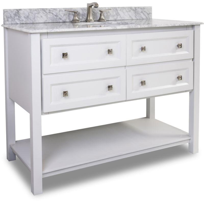T Mw Painted White White Marble Bathroom Vanity Build Com