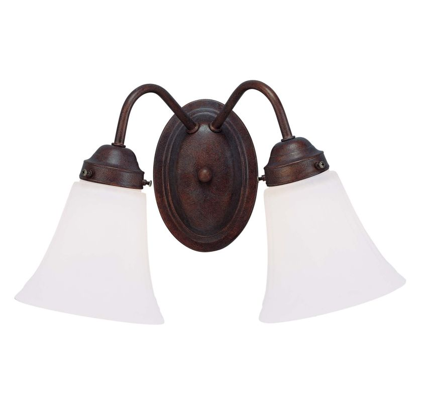 Savoy House 8 3280 2 13 English Bronze Bathroom Light