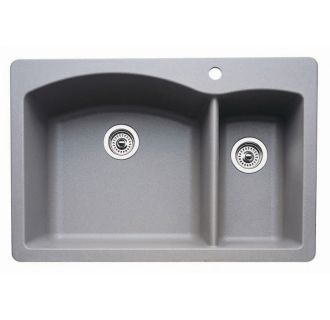Faucet Com 440178 In Metallic Gray By Blanco