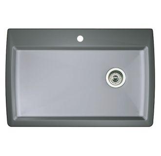 Blanco 440193 Metallic Gray Diamond Single Basin Silgranit