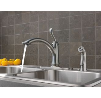 Delta-4453-DST-Running Faucet in Arctic Stainless