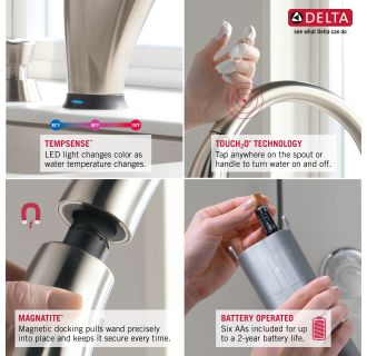 Delta-9197T-DST-Features of this Faucet